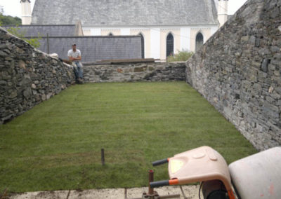 Finished small lawn in Tavistock