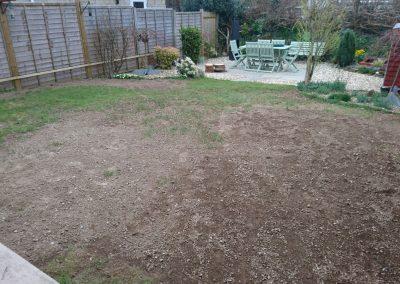 Customer own laying - preparing the ground