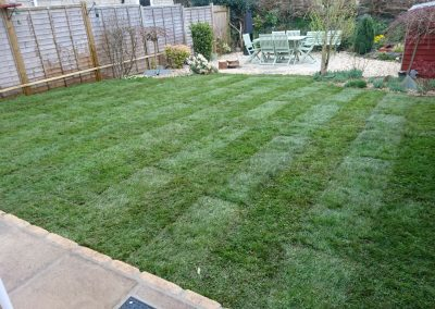 Customer own laying - finished lawn